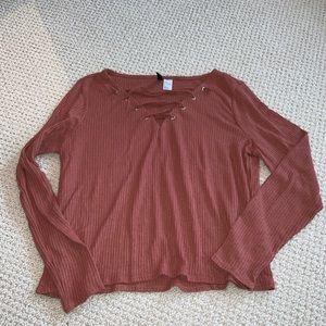Tops - H&M long sleeve shirt